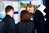 Sophie, The Countess of Wessex visits Park House School, Newbury.